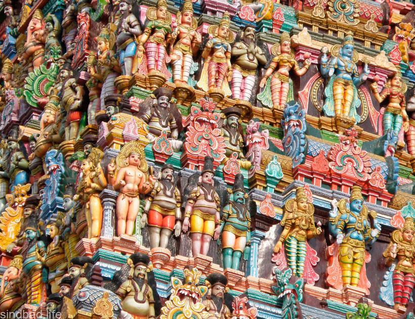 Индуистский храм Минакши фото