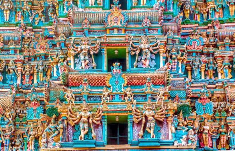 Индуистские храмы Индии